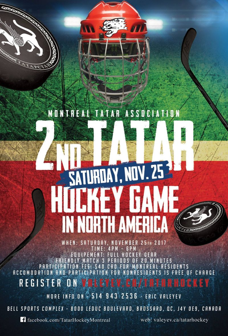 2nd Tatat Hockey Match in North America